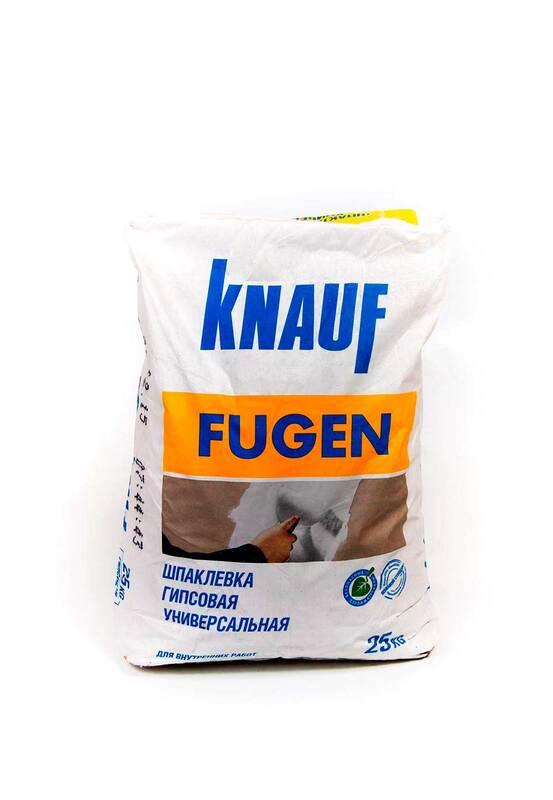 Шпаклёвка Кнауф Фуген 25 кг