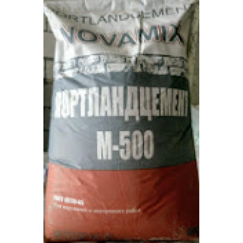 Цемент Novamix М-500 (40кг) (49шт/под)