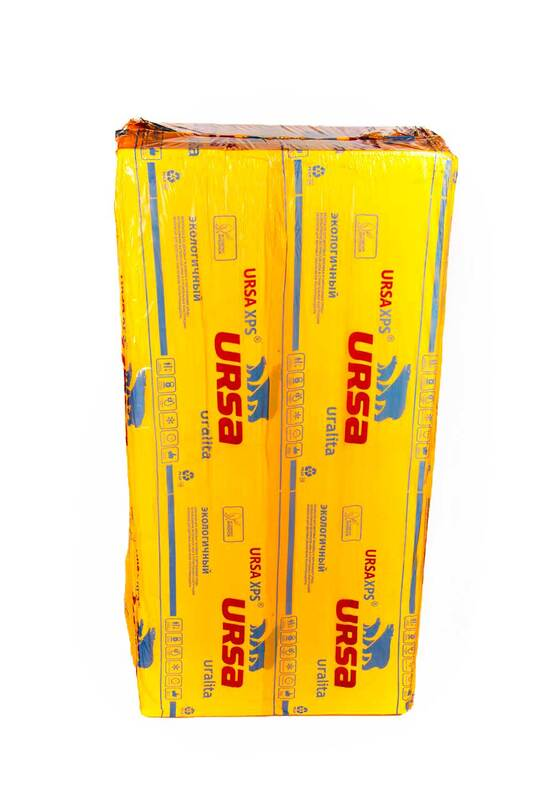 URSA XPS 100 мм (плита)