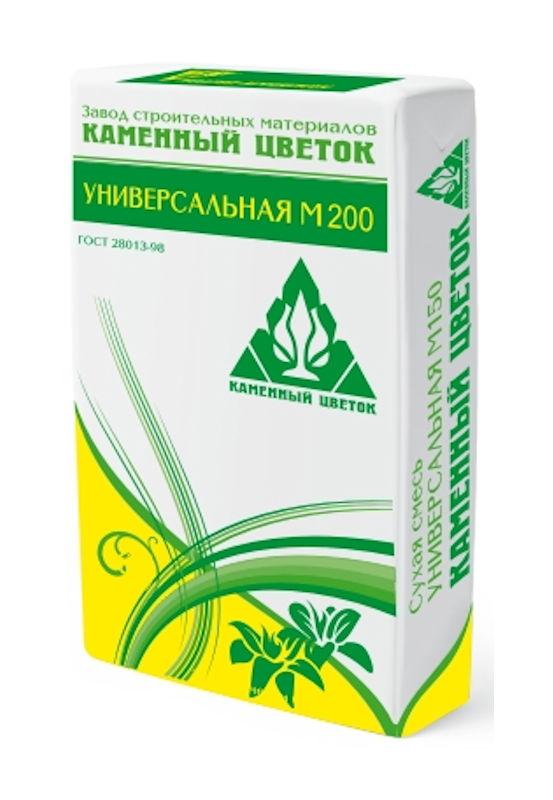 Кладочная смесь Каменный цветок М 200 (40кг)